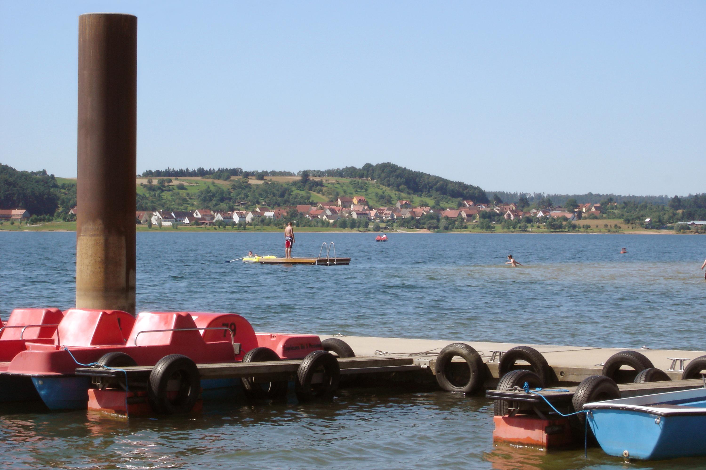 Bootsverleih Allmansdorf am Brombachsee