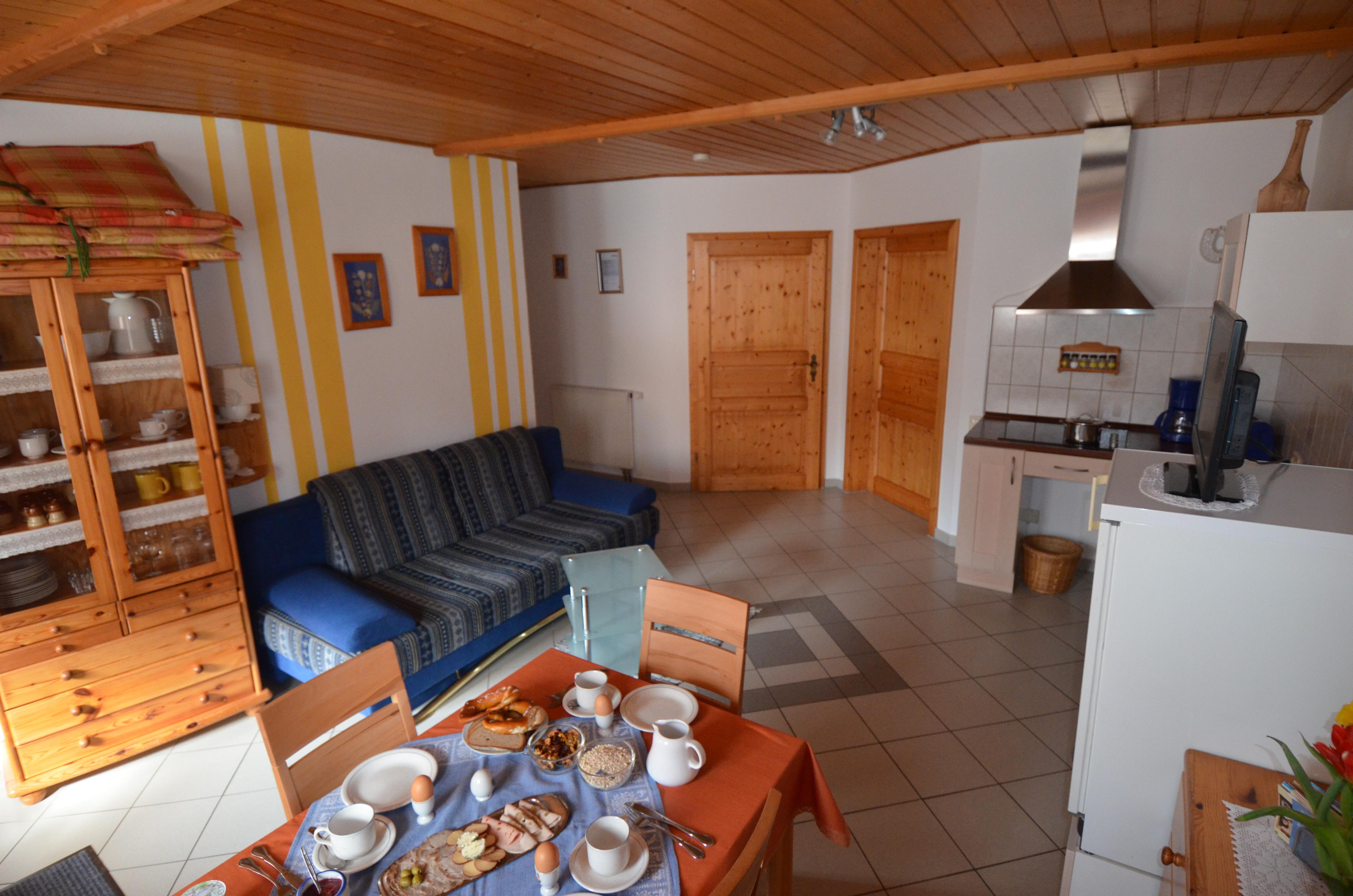 Wohnraum Ferienwohnung 3