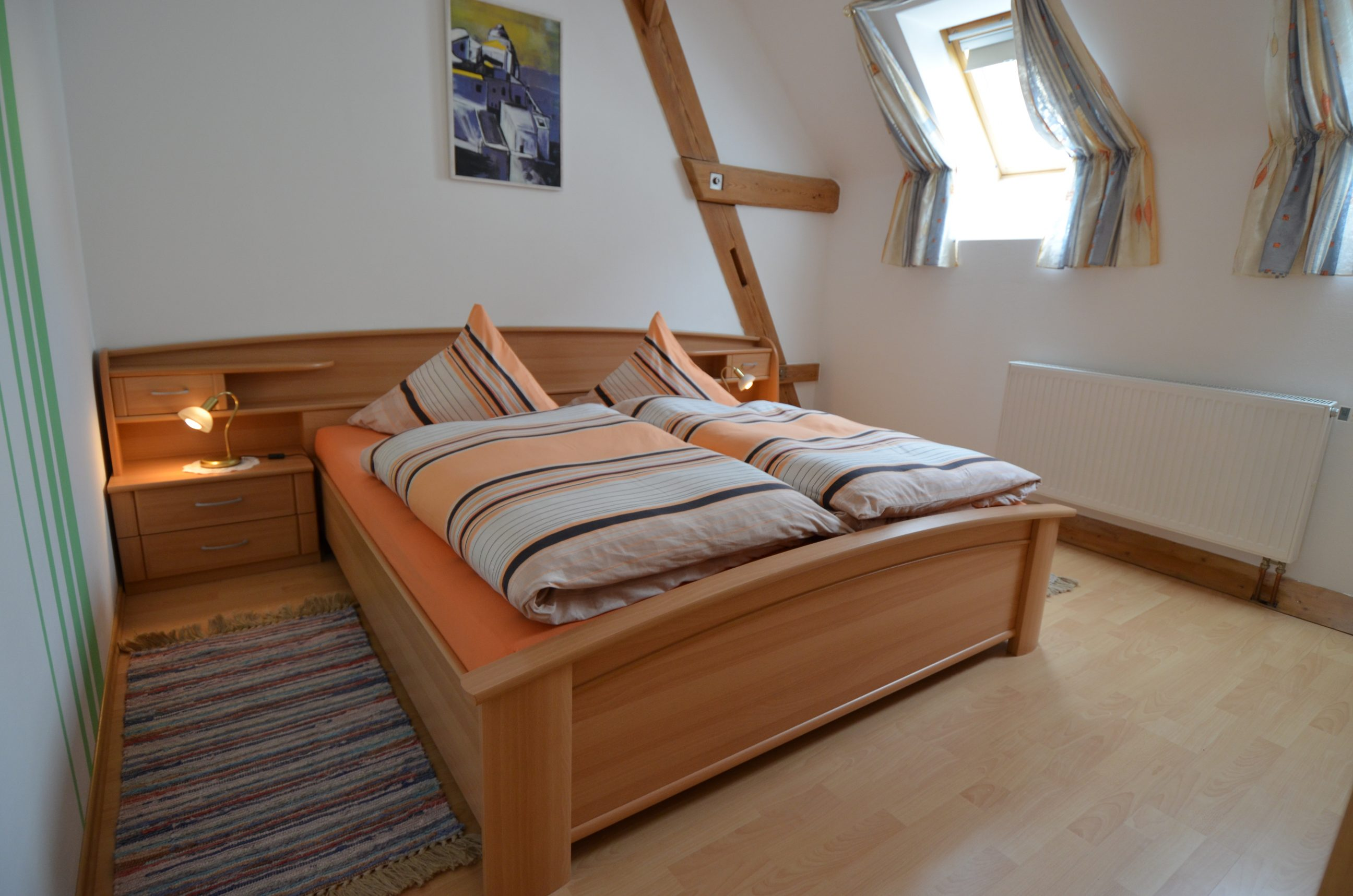Schlafzimmer von Ferienwohnung 4