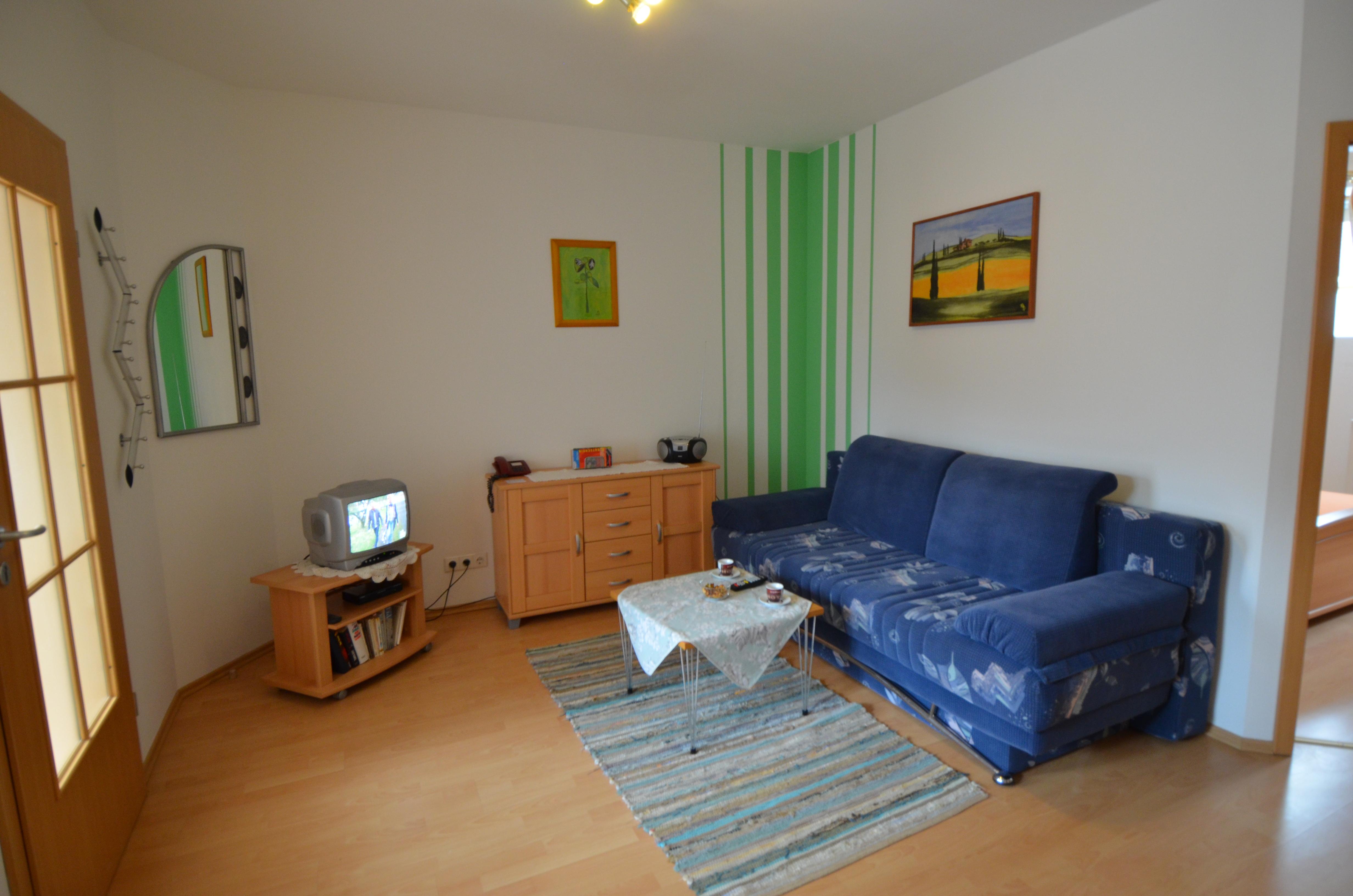 wohnen ferienwohnung 4 ferienhaus teubner im fr nkischen seenland. Black Bedroom Furniture Sets. Home Design Ideas