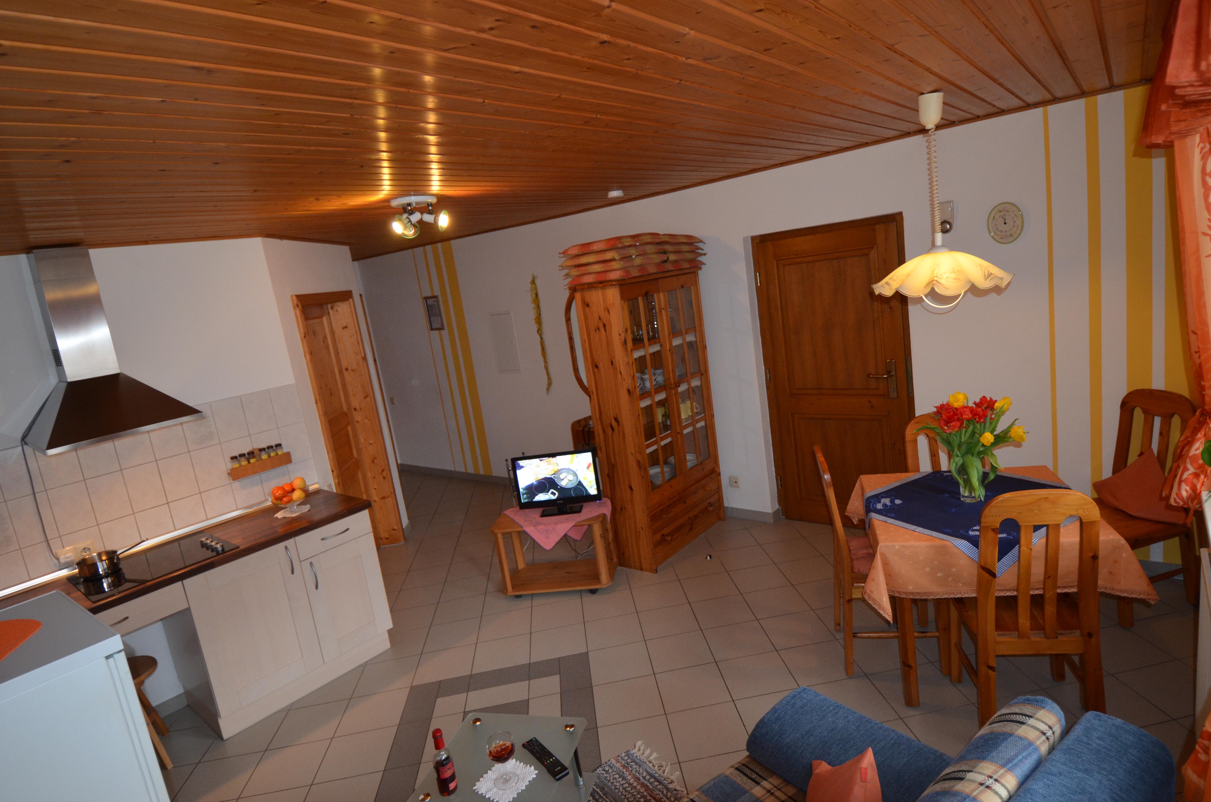 Wohnraum von Ferienwohnung 2