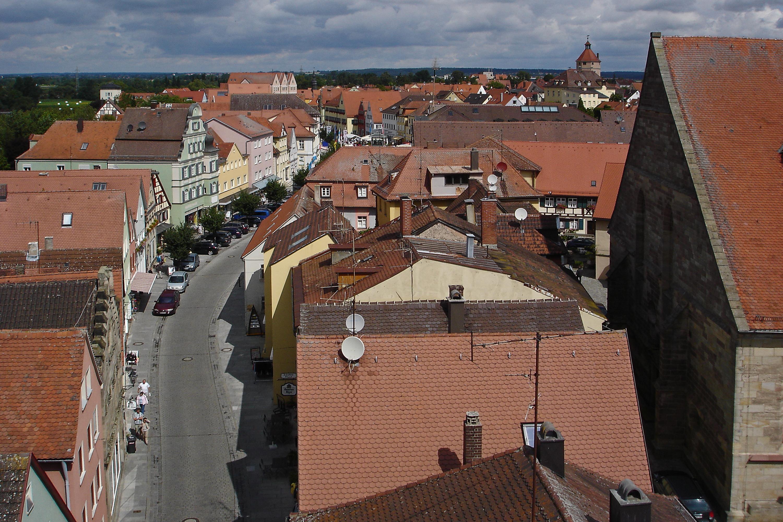 Gunzenhausen von Oben