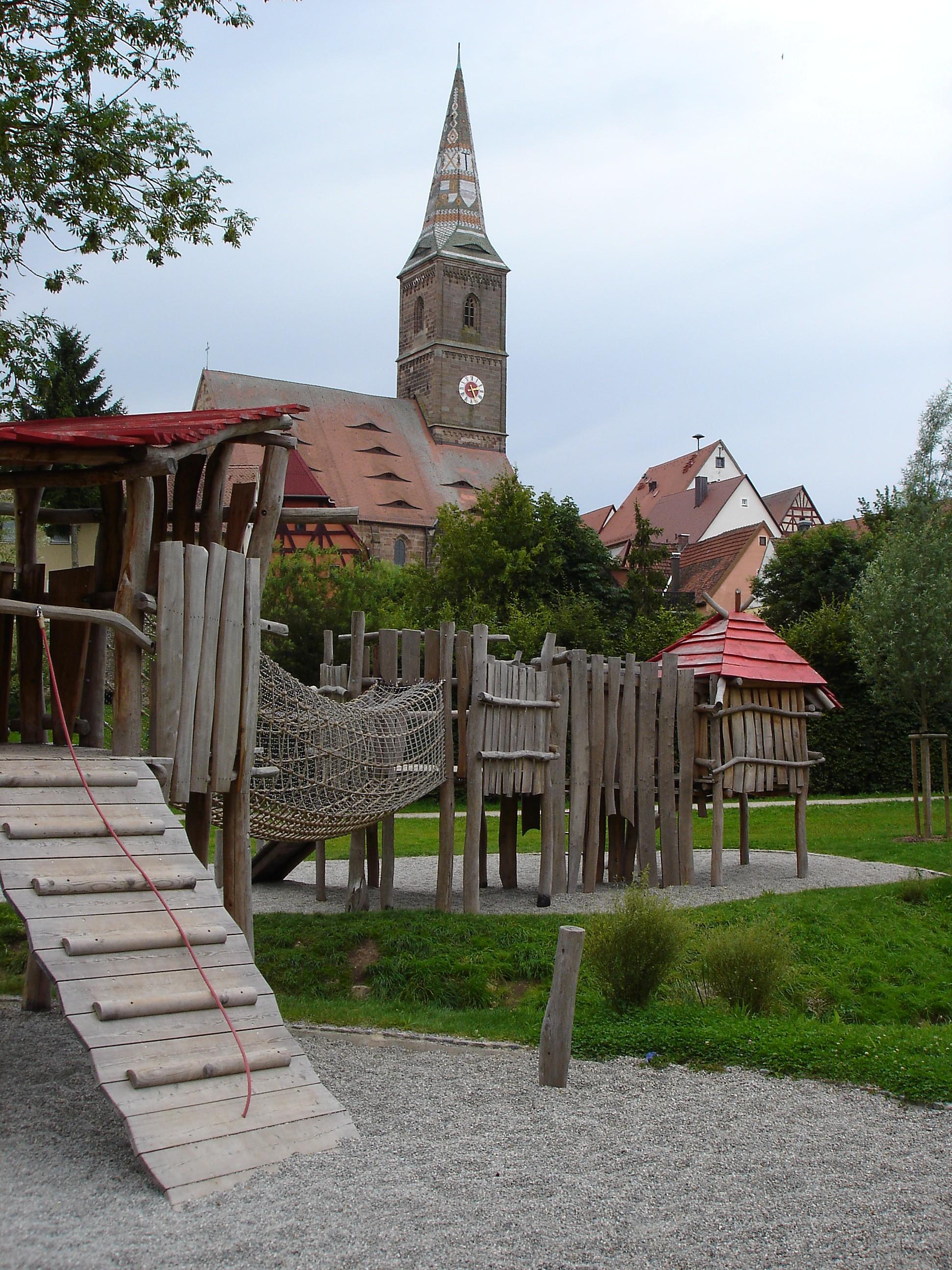 Ritterspielplatz von Wolframs-Eschenbach
