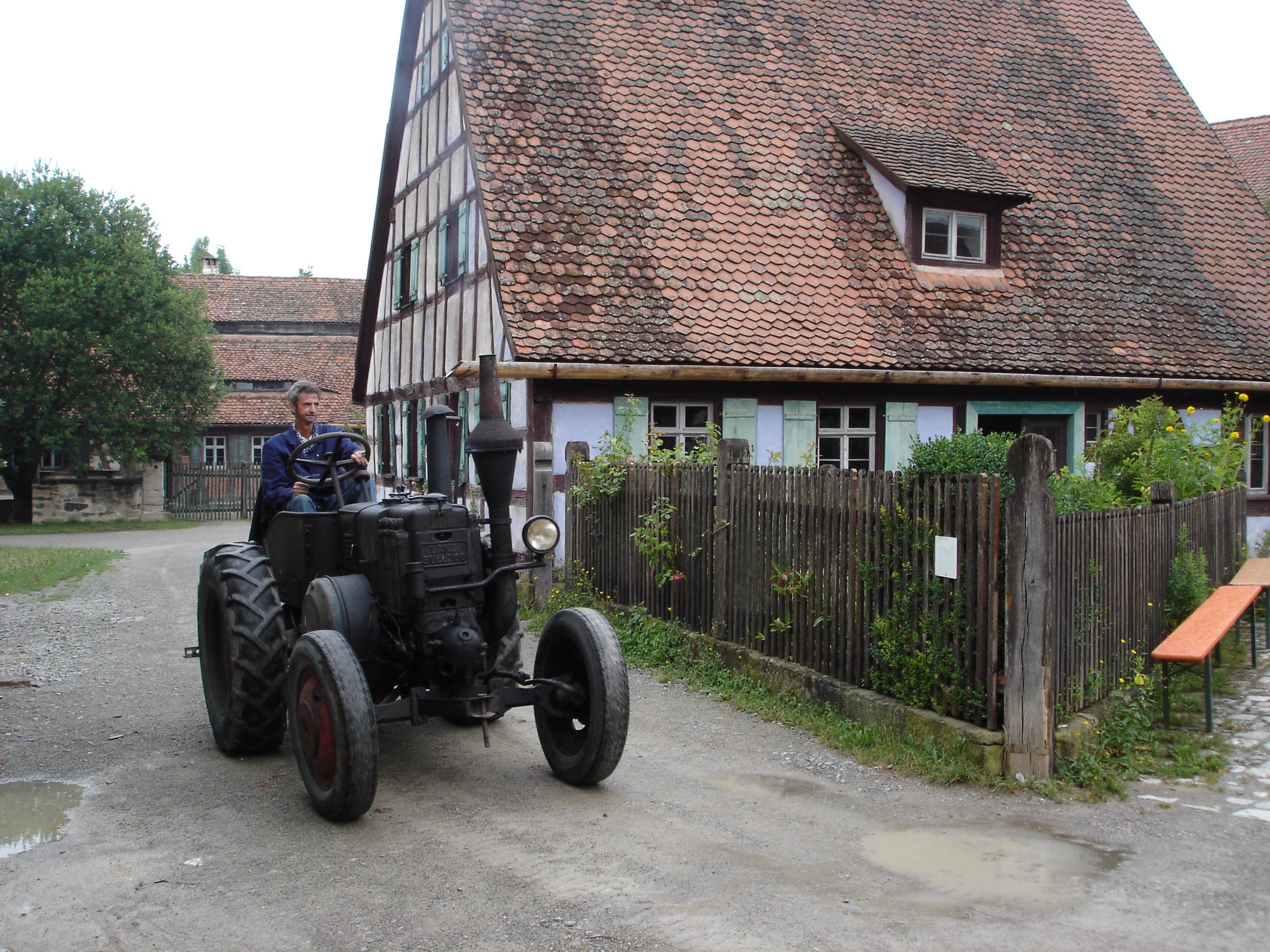 Lanz Bulldog im Freilandmuseum Bad Windsheim