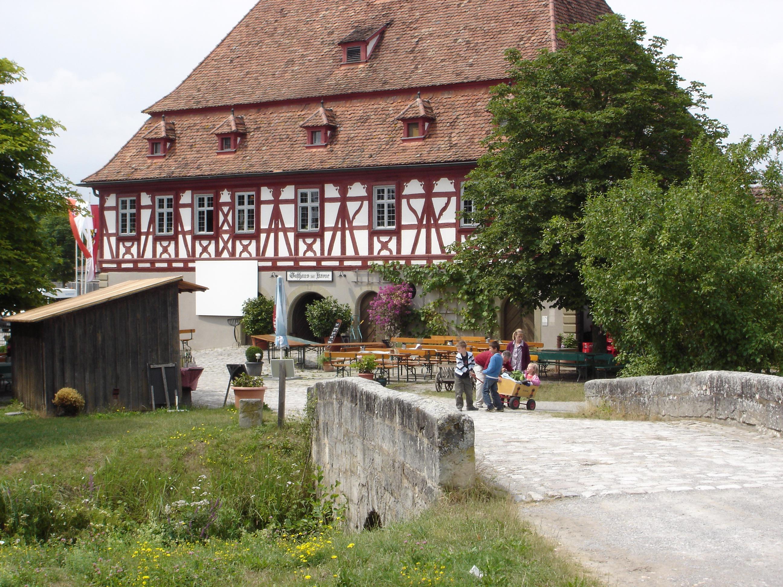 Dorfwirtshaus im Freilandmuseum Bad Windsheim