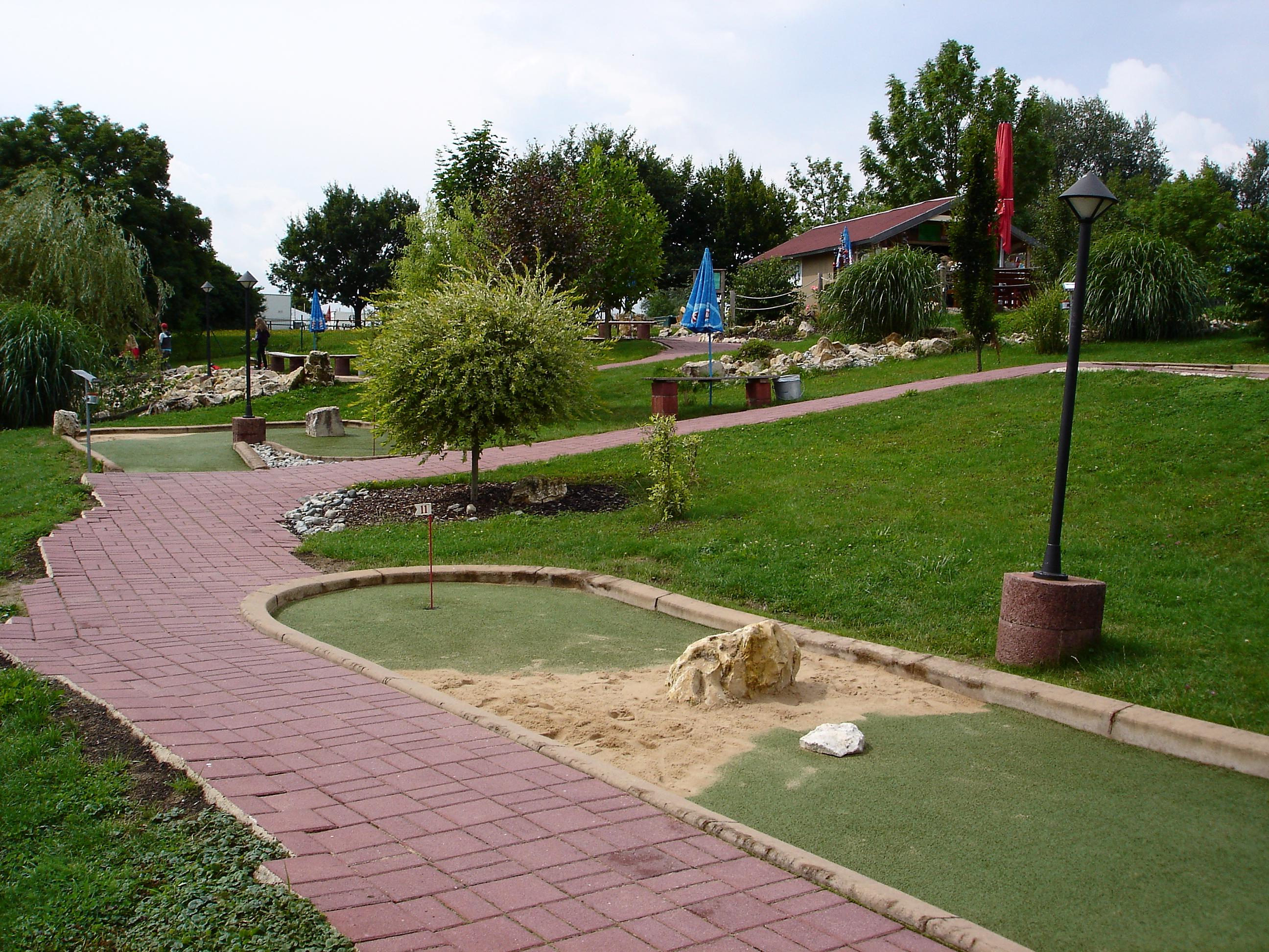 Minigolfplatz am Altmühlsee