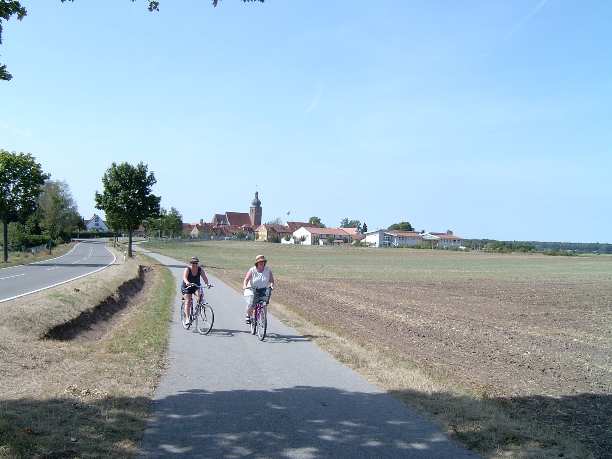 Fahrradtour von Merkendorf nach Wolframs-Eschenbach