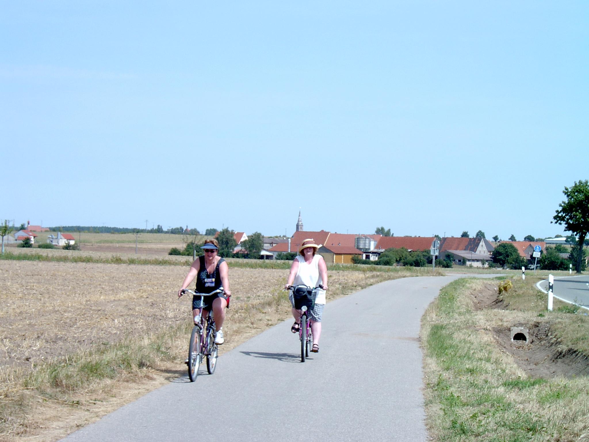 Fahrradtour von Wolframs-Eschenbach nach Merkendorf
