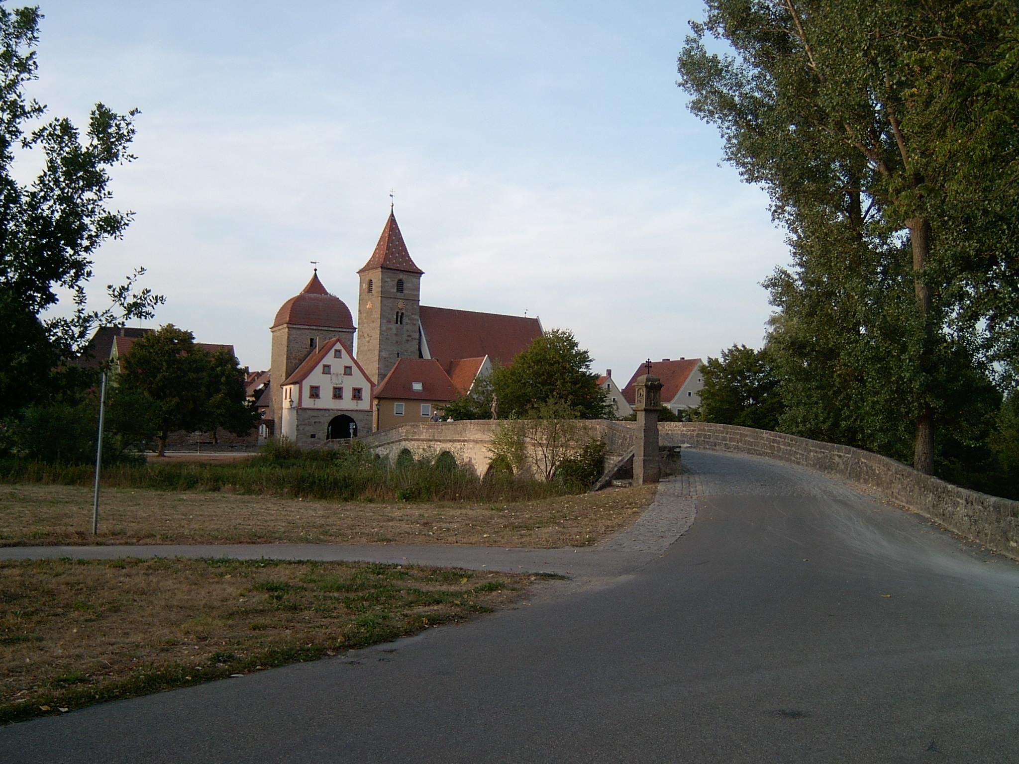 Altmühlbrücke von Ornbau