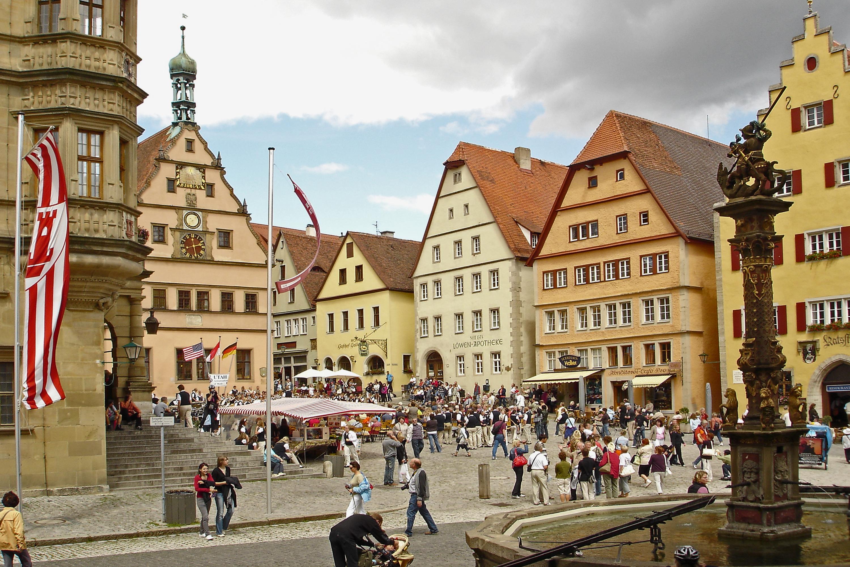 Marktplatz von Rothenburg ob der Tauber