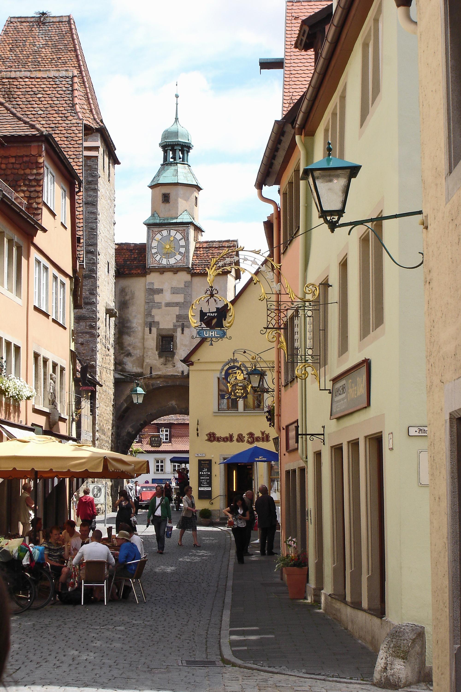 Markusturm-Röderbogen Rothenburg ob der Tauber