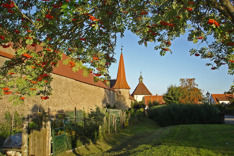 Stadtmauer von Merkendorf