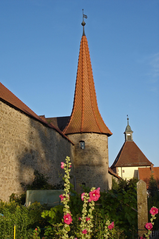 Stadtmauerturm & Untertor Merkendorf
