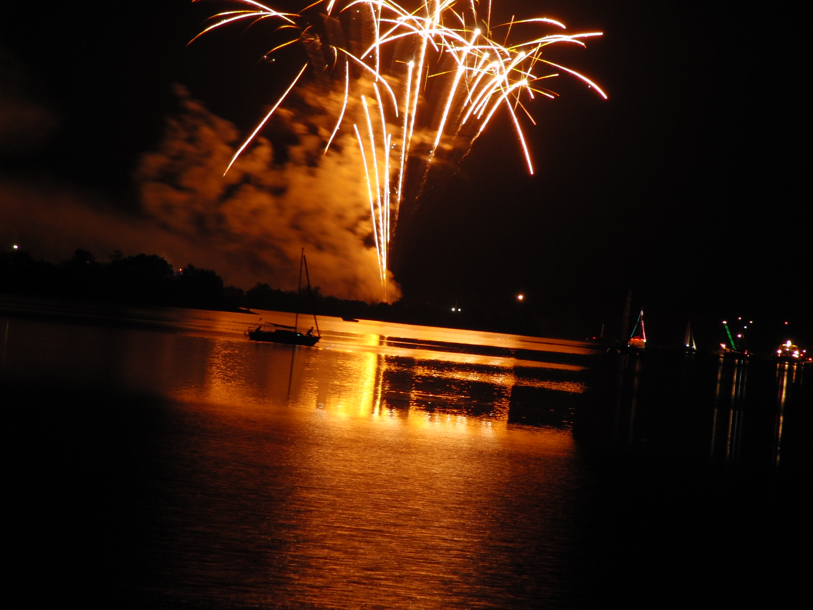 Altmühlsee in Flammen