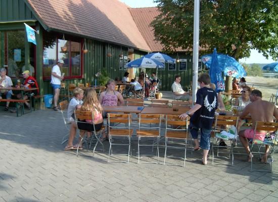 Kiosk am Altmühlüberleiter in Gern