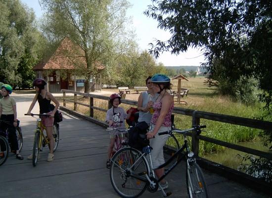 Radtour am Altmühlsee