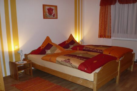 Schlafzimmer Ferienwohnung 2